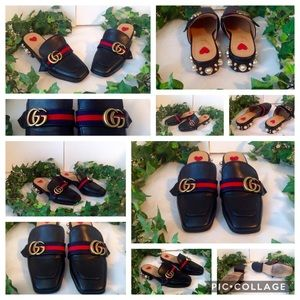 👞 Gucci GG marmont peyton block loafers! 👞